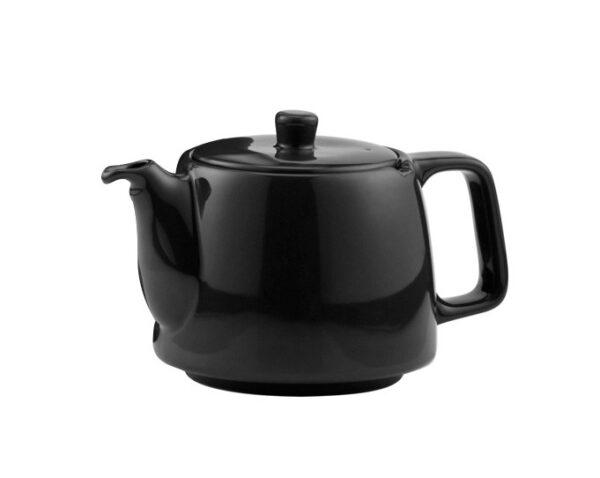 Porzellanteekanne schwarz ohne Teesieb für 4l Modell-0