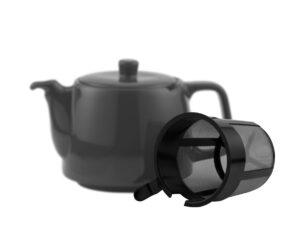 Teesieb schwarz für 4 Liter Modell -0