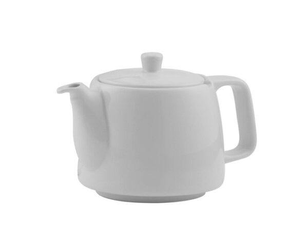 Porzellanteekanne weiss ohne Teesieb für 4l Modell-0