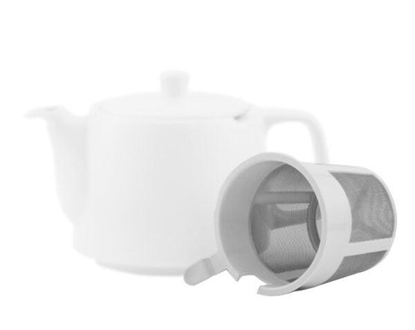Teesieb weiss für 4 Liter Modell-0