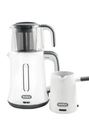 Tee- & Kaffeezubereiter grau -0