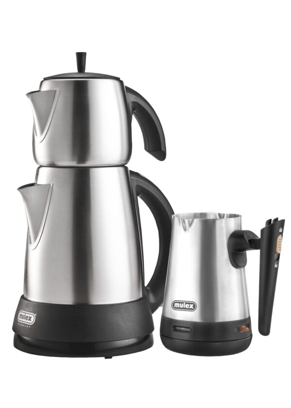 Tee- & Kaffeezubereiter Edelstahl-0
