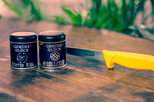 MULEX 2 Küchenmesser & Gewürzglück im SET -0